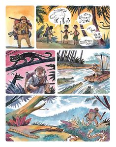 The Quest - silent comic on Behance
