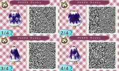 Winter Outfit Animal Crossing New Leaf QR Code