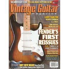 Vintage Guitar Magazine, (guitar, vintage guitar price guide, musical instruments)