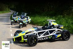 Ariel Atom 3.5R Model for the Avon & Sommerset Police. Livery by VLS - Vehicle Livery Solutions Hull