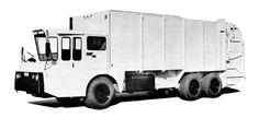 1967 Gar Wood T100 Refuse Garbage Truck