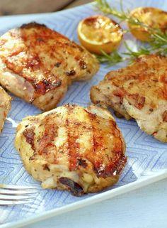Low FODMAP Recipe and Gluten Free Recipe - Grilled lemon & herb chicken http://www.ibssano.com/low_fodmap_recipe_grilled_lemon_herb_chicken.html