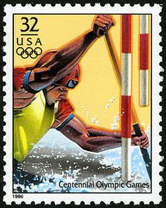 Canoeing might not be the most well-known of Olympic sports, but it was honored with a stamp in the 1996 Summer Olympic Games Issue.