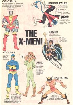 Marvel Comics of the 1980s: 1983 - The X-Men!