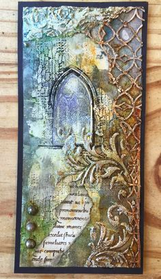 The Artistic Stamper Creative Team Blog: Gothic Arch's