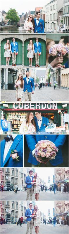 Huwelijksreportage in Gent (c) Silvie Bonne Fotografie - www.silviebonne.be  #FotograafInGent