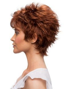Short haircut for women over 60