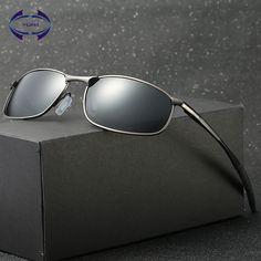 0e55344047 US $10.27 51% OFF|2018 HD Polarized UV 400 men's Sunglasses brand new male  cool driving Sun Glasses driving eyewear gafas de sol shades with box-in  Men's ...