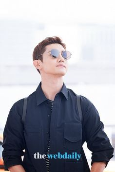 Round Sunglasses, Mirrored Sunglasses, Mens Sunglasses, Tvxq Changmin, Husband, Kpop, Concert, Blue, Jakarta