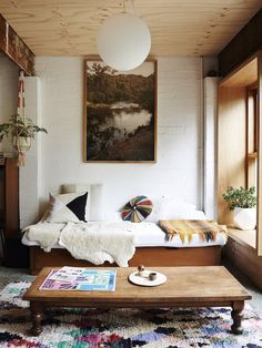 Home Decor Living Room the design files.Home Decor Living Room the design files Home Interior, Interior Decorating, Decorating Ideas, Bohemian Interior, Bohemian Room, Natural Interior, Bohemian Living, Hippie Bohemian, Plywood Ceiling