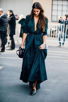 Dark Jade Maxidress.