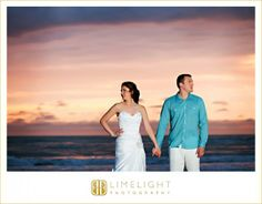 Bride, Groom, Sunset, Clearwater Beach, Wedding, Limelight Photography, www.stepintothelimelight.com
