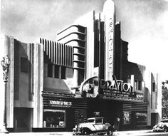 "The Brayton Theatre in Long Beach, California is screening ""Baby Face"" - (1933"