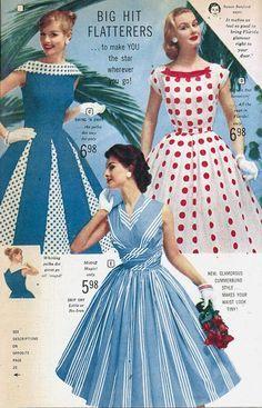 Retro Fashion 1950 - Looking for vintage-inspired pieces for your special ev. Retro Fashion 60s, Vintage Fashion 1950s, Vintage Chic, Vintage Inspired, Vintage Dresses, Vintage Outfits, Florida Fashion, Chic Dress, Boho
