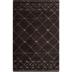 10fd072aa7f Tribal Pattern Hand-Tufted Wool Rug by Nikki Chu from Fashionable Floors  feat. Nikki Chu Rugs on Gilt