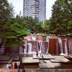 Ira C. Keller Fountain em Portland, OR