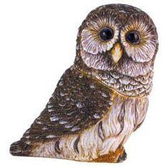 Harmony Ball harmony Kingdom Pot Belly Barred Owl