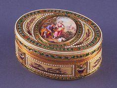 Oval Snuff box ca. 1780
