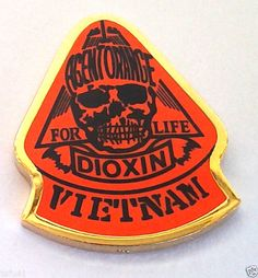 AGENT ORANGE FOR LIFE DIOXIN VIETNAM Military Veteran Hat Pin 14277 HO | Collectibles, Militaria, Current Militaria (2001-Now) | eBay!