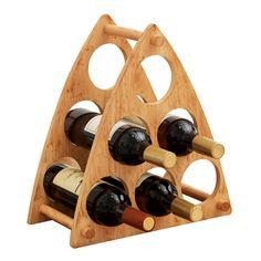 Wine Bottle Display, Wine Glass Rack, Wine Bottle Holders, Diy Home Crafts, Wood Crafts, Wine Rack Design, Diy Home Bar, Rustic Wine Racks, Wine House
