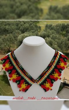 Crochet Blankets, Diy And Crafts, Crochet Necklace, Exercise, Beads, Jewelry, Necklaces, Jewelry Necklaces, Stud Earrings