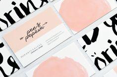 New Business Cards — Pen + Peplum