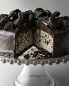 Cookies & Cream Cheesecake. And desserts