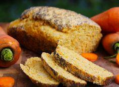 Receta Pan de Zanahoria y Amapolas - Receta Vegetariana