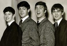 The young Beatles! <3