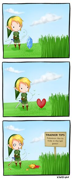 Oh no, Link! You killed Pikachu! D: