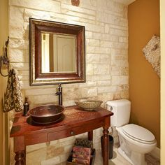 Powder Room Powder Room Pedestal Sink Design, Pictures, Remodel, Decor and Ideas - page 104