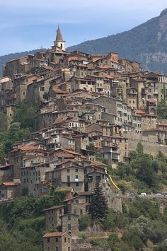 Apricale, Imperia, #Liguria, Italy