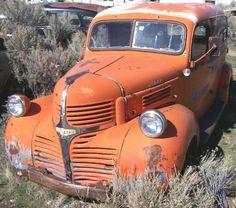 Vintage Dodge Trucks|Panel '40's