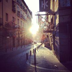 Madrid, calle del Prado.