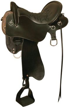 153 Vista Western Trail Horse Saddle