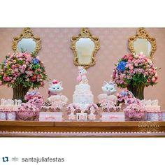 M Birthday Party Decorations, Birthday Parties, Marie Cat, Gata Marie, Marie Aristocats, Festa Party, Kitty, Baby Shower, Boho