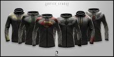Pros meninos e pra mim... Jaquetas super estilosas inspiradas em super-heróis