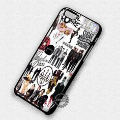 The All Bands - iPhone 7 6 Plus 5c 5s SE Cases & Covers #music #patd