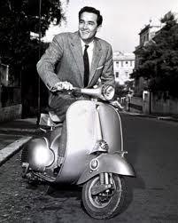 #Vittorio #Gassman #piaggio #vespa #italian #actor