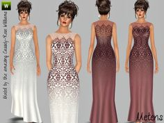 Angel dress by Metens - Sims 3 Downloads CC Caboodle