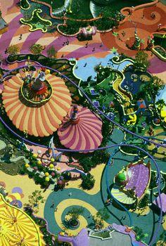 Seuss Landing at Universal Studios, Florida by Alex MacLean