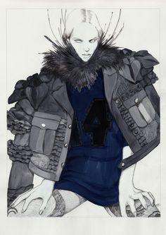 Illustration.Files: Louis Vuitton S/S 2014 by Artaksiniya