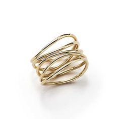 Tiffany & Co. -  Elsa Peretti® Wave ring in 18k gold - I'll take one in a size 6, please!