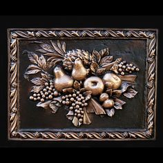 renaissance kitchen and bath | decorative plaques | This one would look lovely in the Kitchen