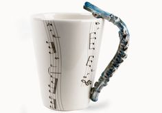 Flute Mug.  There are also piano, guitar, saxophone, clarinet, electric guitar, treble clef, and many others.  I'm kind of partial to my instruments. :-)