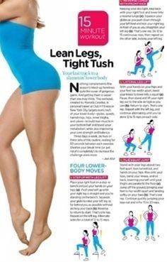 .Lean legs workout
