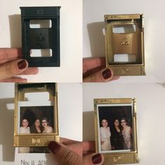 Photo frame recycling instax mini 8 cartridge.