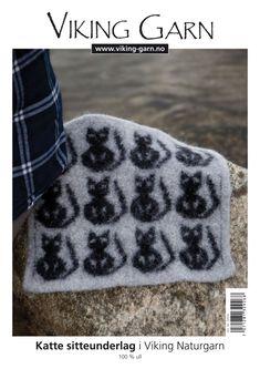 Viking Kits Katte Sitteunderlag - Viking of Norway Vikings, Knit Crochet, Kit, Knitting, Norway, House, Threading, Creative, The Vikings