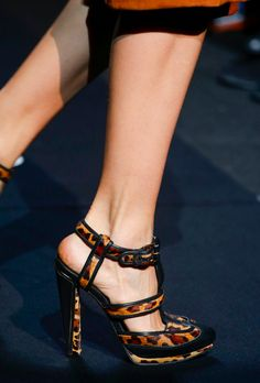 The shoes at DVF