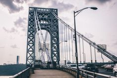 Go a step past wherever people expect you to end up. Fort Lee, Washington Heights, Hudson River, George Washington Bridge, New York City, Past, Travel, Past Tense, Viajes